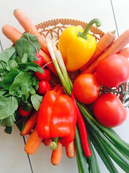 Eat a healthy diet for fertility